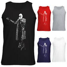 Mens Rob Halford Judas Priest Rock Metal Icon Vest Tank Top S-XXL