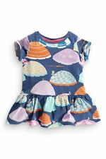 Bnwt NEXT Girls Parasol Print Cute Cotton Dress 2-3-4-5-6 yrs