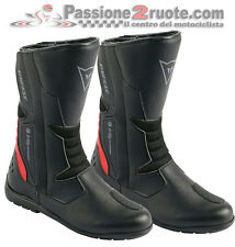 Stivale moto Touring Dainese Tempest D-Wp nero rosso impermeabile waterproof