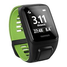 TomTom Runner 3 GPS Cardio Watch: Black/Green