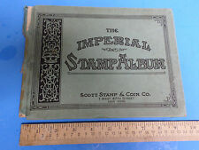 THE IMPERIAL STAMP ALBUM, 1928, FULLY ILLUSTRATED, 9TH EDITION, SCOTT STAMP CO.