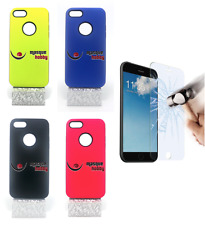 Cover Custodia A Prova Di Shock Antiurto Ibrida Fluorescente Iphone 7G 7S 4.7""