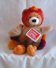 Gund - Autumn Surprises Teddy Bear/Turkey - New with Tags