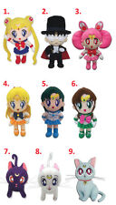 NEW Official Cute Anime Great Eastern Plush Toy Doll - Sailor Moon Senshi