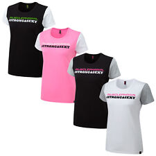 Muscle Pharm Ladies Short Sleeve T-Shirts - New Fitted Top Gym Fitness Training