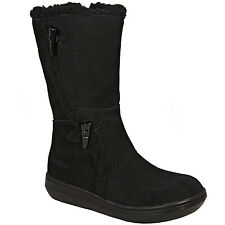 Rocket Dog Slope Suede Boot In Black From Get The Label