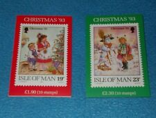 ISLE OF MAN MINT STAMP BOOKLETS COMPLETE & UNUSED CHRISTMAS - SELECT BOOKLET