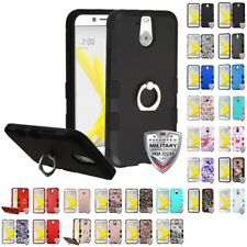 For HTC BOLT Phone Hybrid SHOCKPROOF TUFF IMPACT Phone Case Hard Rugged Cover