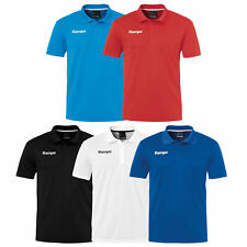 Kempa POLY POLO SHIRT Herren Handball Poloshirt Polohemd Funktion Funktionspolo