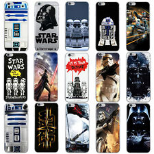 Cartoon Star Wars 7 Funny Soft Phone Case For iPhone X Xr Xs Max 5 6S 6 7 8 Plus
