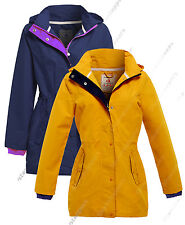 NEW WATERPROOF Festival Mac Ladies Raincoat Women Jacket Size 10 12 14 16 18