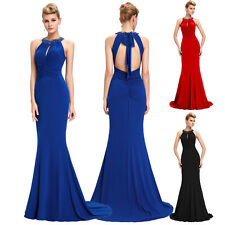 Sexy Mermaid Formal Evening Prom Party Bridesmaid Ball Gowns Masquerade Dresses