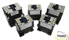 Chint NC1-18 Contactor range 7.5KW 18A AC3 3 pole plus open or closed Auxiliary