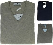 Pull Pull Homme Manches Longues Cou En V Cachemire Pierre Balmain Pull Hommes
