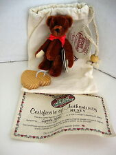GANZ ~ COTTAGE COLLECTIBLES MINIATURES - RUSTY  BEAR 3
