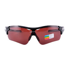 RockBros Protective Sport Goggles Glasses Cycling Sunglasses Polarized Black/Red