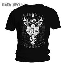 Official TShirt AVENGED SEVENFOLD Logo Cloak & Dagger  All Sizes