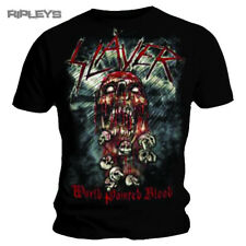 Official T Shirt SLAYER Skeleton WORLD PAINTED BLOOD Skull All Sizes