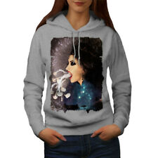Smoke Vape Space Fantasy Women Hoodie NEW | Wellcoda
