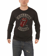 The Rolling Stones T Shirt Tour 78 band logo new Official Mens Black Long Sleeve