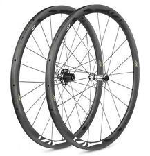 COPPIA RUOTE ROAD FIR R36 CARBON TUBULAR 2017
