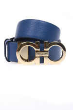 Cintura Salvatore Ferragamo Belt % Pelle Made In Italy Donna Nero 23A564658079-
