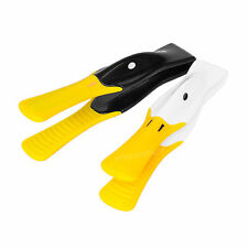 Plastic & Silicone Duck Bird Toast Tongs Crumpet Bagel Kitchen Toaster Serving