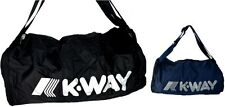 Borsa Borsone Palestra Uomo Donna K-Way Bag Men Woman k-Foldable Duffle Backpack