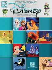 Contemporary Disney: Easy Guitar With Notes And Tab Guitar Tab