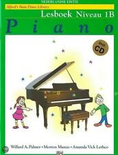Alfred's Basic Piano Library: Lesboek Niveau 1B (Dutch Edition) Piano Sheet Musi