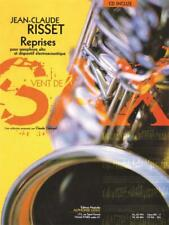 Jean-Claude Risset: Reprises For Alto Saxophone And Electroacoustic Device (Book