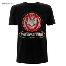 Official T Shirt The OFFSPRING Punk Rock Distressed SKULL Black All Sizes
