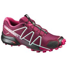 zapatos TRAIL RUNNING Mujer SALOMON SPEEDCROSS 4 W Tibetano Red