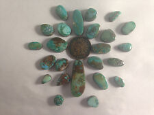 Turquoise/Lapidary/Rough/Custom/Cabochons 100 cts Natural Kingman