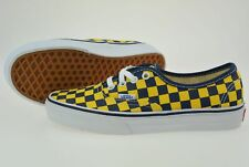 Vans Authentic Golden Coast Sneaker Skate Schuhe Dress Blue / Yellow Check