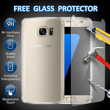 For Samsung Galaxy S7 S8 Plus Luxury Ultra Slim Shockproof Bumper Case Cover