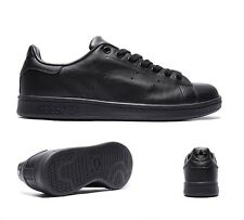 Mens Adidas Stan Smith Black Trainers