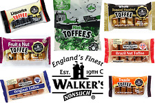 Walkers NonSuch British Toffee Bars 10 x 100 grams with Tray Made in England