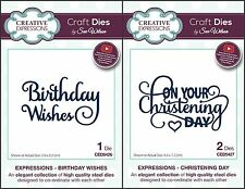 Creative Expressions - Sue Wilson Expressions Dies April 2017 - Birthday Etc