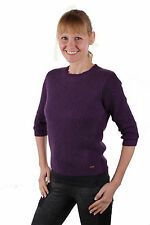 Timberland Damen Pullover Huntington River Sweater Purple Gr. S #TL063