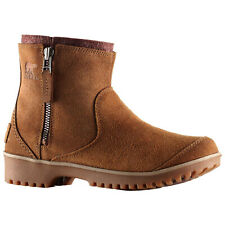Sorel Womens Meadow Zip Boots - New Water-Resistant Suede Leather Winter Shoes