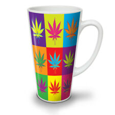 Weed Cannabis Leaf Rasta NEW White Tea Coffee Latte Mug 12 17 oz | Wellcoda