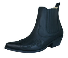 Johnny Bulls Sprinter Mens Leather Chelsea / Ankle Boots - Black - 9636M