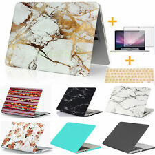 """Rubberized MARBLE Hard Case Cover for Apple Macbook AIR PRO RETINA 11 12 13 15"""""""