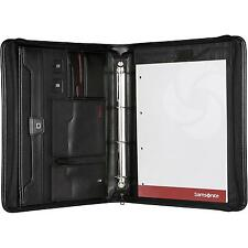Samsonite Stationery Pro-Dlx 4 Zip Folder A4Ret H+Binder / RV-Schreibmappe *NEU*