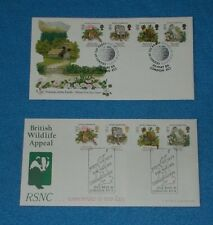 FIRST DAY COVERS NATURE CONSERVATION 20.5.86 SPECIAL POSTMARKS - SELECT COVER