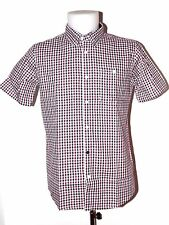 WEEKEND OFFENDER CHEMISE ROSCOE MANCHE COURTE SM XL XXL CARREAUX CASUAL