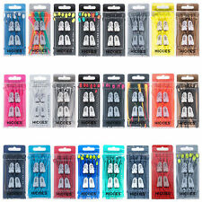 14x HICKIES NO TIE SHOE LACES REPLACEMENT RESPONSIVE LACING SYSTEM NEW GENUINE