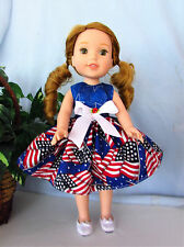 HANDMADE DOLL CLOTHES FITS AMERICAN GIRL WELLIE WISHERS 14.5