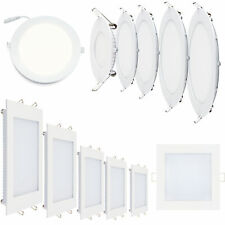 LED Panel ultra slim Plafonnier Spot Encastrable Lampe Rond carré